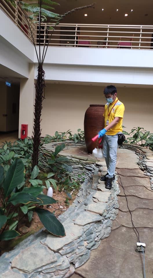 pest control job for commercial client