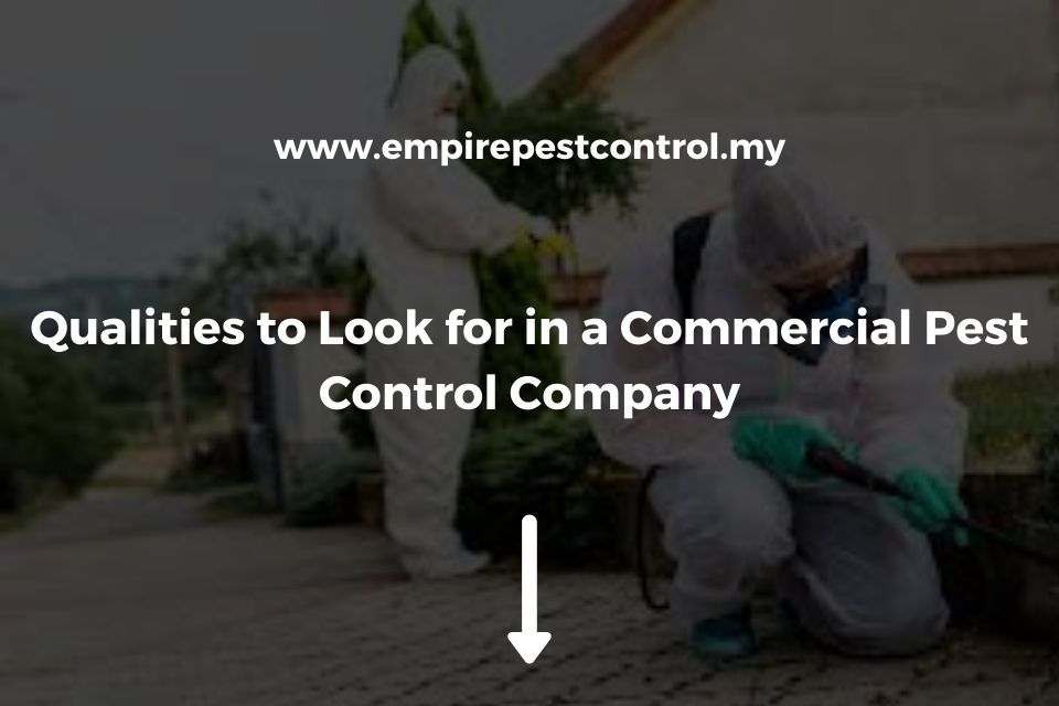 Qualities Commercial Pest Control Company Featured Image