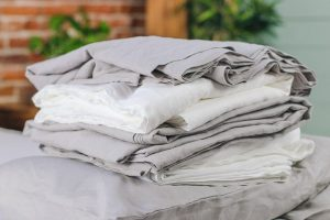 linens and bed sheets