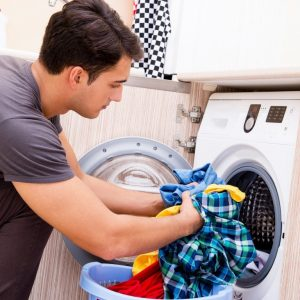 washing linens